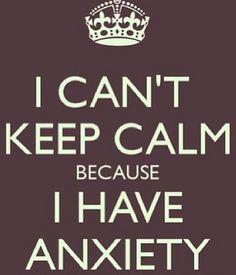 A little anxiety humor. #keepcalm #anxiety #mentalhealth