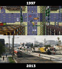 The original GTA & GTA V