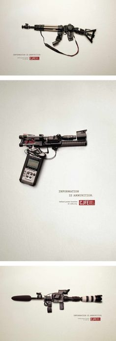 Clever Press Freedom Campaign by Juniper Park