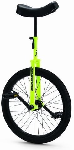 Torker Unistar CX Unicycle 20 Inch, Yellow -
