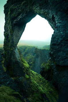 Even Iceland have arches. Fjaðrárgljúfur Iceland [13652048] (OC @IG/aka.guy) #reddit