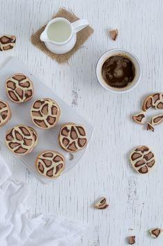 Leopard cookies