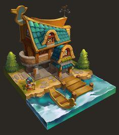 Картинки по запросу mobile games art houses