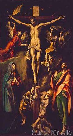 El Greco - Crucifixion