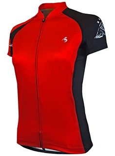 MUTEKI Womens Wings Cycling Jersey 4XLarge Raging Red    Click image for  more details.Note It is affiliate link to Amazon. 7b97eea91