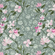 Hesperia - Peony fabric, from the Pavonia collection by Designers Guild