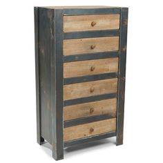 Bold Dresser Natural, $403, now featured on Fab.  Has an eclectic charm