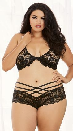 1000+ images about #plus size lingerie on Pinterest