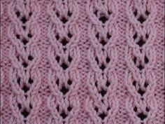 قلوب الاجور المتداخلة (تريكو) ... knit Hearts of overlapping wages - YouTube