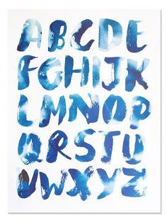 ABC's ~ Art Print