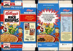 UK - Kellogg's - Rice Krispies single portion cereal box - 1991 by JasonLiebig, via Flickr