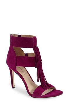 Via Spiga 'Eilish' Fringe Sandal (Women) available at #Nordstrom