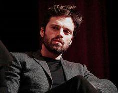 Sebastian Stan, Bucky Barnes Fanart, Hottest Male Celebrities, Celebs, Man Thing Marvel, Marvel Films, Most Beautiful Man, Winter Soldier, Chris Evans