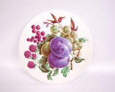 Vintage Wheeling Trivet Ceramic Art Tile by LeVintageGalleria