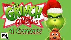 The Grinch Christmas Four Corners Fitness Challenge | Kids & Family Work...
