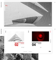 Das - Architecture Template on Behance Architecture Presentation Board, Presentation Layout, Page Layout Design, Web Layout, Cv Website, Profile Website, Website Ideas, Creative Web Design, Architectural Section