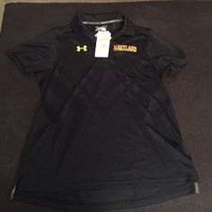 NWT under Armour Maryland women's polo . Under Armour Tops