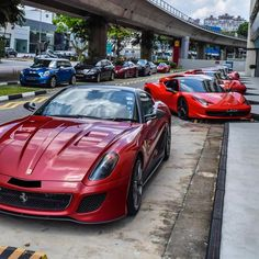 599 GTO & Friends  Follow @CarZi_com for NEWS!  Freshly Uploaded To www.MadWhips.com  Photo by @keefepictures