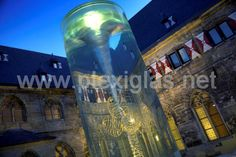 A designer hotel inside a former Gothic cathedral? www.plexiglas.net... The #Kruisherenhotel in Maastricht plays with the past, present, light and #architecture. The central attraction in the courtyard is a water-filled #cylinder made of #PLEXIGLAS®. It refracts the light, offers elegant perspectives and unites medieval flair with modern panache.