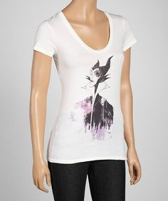 Take a look at this Sugar Maleficent Tee by Junk Food on #zulily today! $14 !!