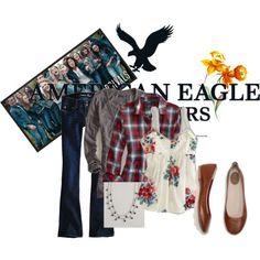Fall casual layering - American Eagle