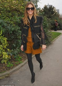 THE OLIVIA PALERMO LOOKBOOK By Marta Martins: Paris Fashion Week 2014 : Olivia Palermo At Chloe