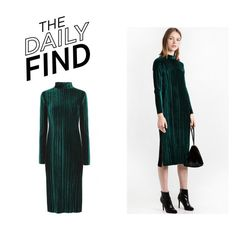 The Daily Find: Pixie Market Velvet Dress by polyvore-editorial on Polyvore featuring polyvore, fashion, style, clothing and DailyFind