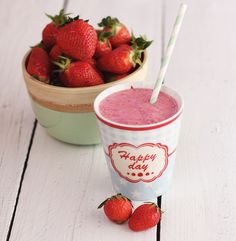 Erdbeer-Himbeer-Shake