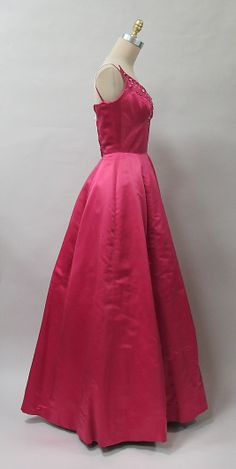 Evening dress Charles James (American, born Great Britain, 1906–1978) 1952–53