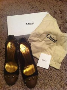Chloe Shoes S3 being sold by Laura on www.Fashionoko.com