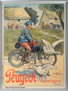 french ad vintage