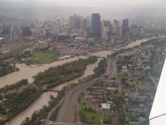 citizens evacuated, told to leave their homes in Calgary Water Spout, Extreme Weather, Alberta Canada, Calgary, Paris Skyline, Earth, City, Nature, Sad
