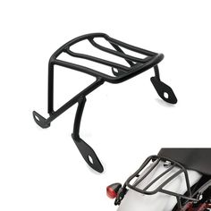 98.09$  Buy here - Rear Detachable Luggage Rack Support Saddlebag Cargo Shelf w/ Mount Screws Kits for Harley Sportster XL 883 1200 X48 2004-2016  #aliexpressideas