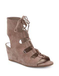 Chaussures   Talon compensé   Suede Gladiator Heel Sandals   La Baie  D Hudson 000c896bcf79