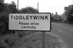 TIDDLEYWINK... Please Drive Carefully! (Hello, Tiddleywink!!)