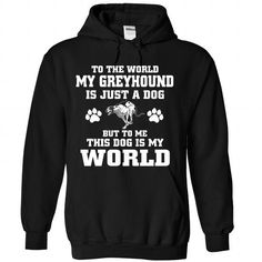 Greyhound - #gift for him #shower gift. CHEAP PRICE => https://www.sunfrog.com/Pets/Greyhound-8555-Black-Hoodie.html?68278