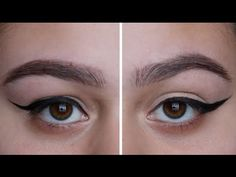 Winged Liner For Hooded Eyes ♡ - YouTube