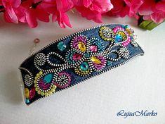 Denim summer color bracelet