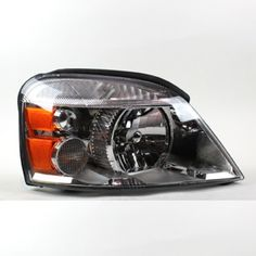 2004 FORD FREESTAR CHROME/CLEAR EURO HEADLIGHTS - TYC - RIGHT (PASSENGER)