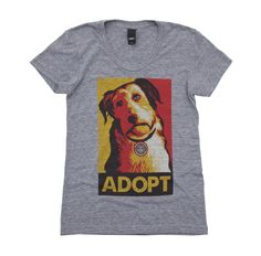 OBEY Awareness - Adopt-A-Pet helping Adopt-a-Pet.com, North America's largest non-profit pet-adoption web service, dedicated to ending the killing of adoptable animals in shelters.  Over 7,500 animal shelters and pet rescue organizations rely on Adopt-a-pet.com 's programs to help them find homes for the dogs, cats, rabbits, birds, small animals, horses, and other pets in their care.