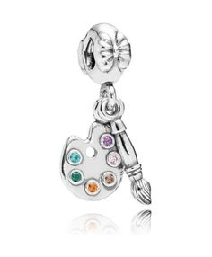 d16fd4580d76 Buy Artists Palette Silver Dangle With 6 Colors Of Cubic Zirconia Online  from Reliable Artists Palette Silver Dangle With 6 Colors Of Cubic Zirconia  Online ...