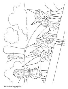 The Fairies Tinkerbell Zarina Rosetta Fawn Vidia Silvermist And Coloring PagesFairy