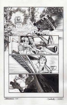 Chrononauts #3 p.16 by Sean Gordon Murphy
