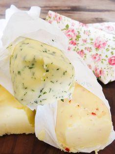 Manteigas aromatizadas
