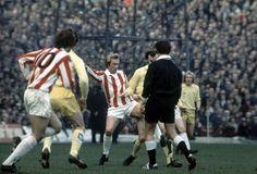 Stoke City v Leeds Utd 1973-74.
