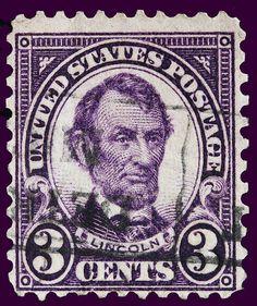 Abraham Lincoln postage stamp US