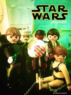 If playmobil did... Star Wars #Starwars