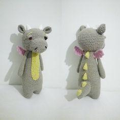 Dragon by sinikeiju_artwork. Crochet pattern by Little Bear Crochets: www.littlebearcrochets.com ❤️ #littlebearcrochets #amigurumi