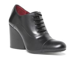 Marc Jacobs Herms Calf Oxford in Black