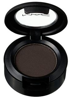MAC Cosmetics eyeshadow in Smut — I'm a decade deep with this shadow, I use it as a liner mostly and I think its pretty perfect because it's not quite black and has just a slight jewel tone shimmer.